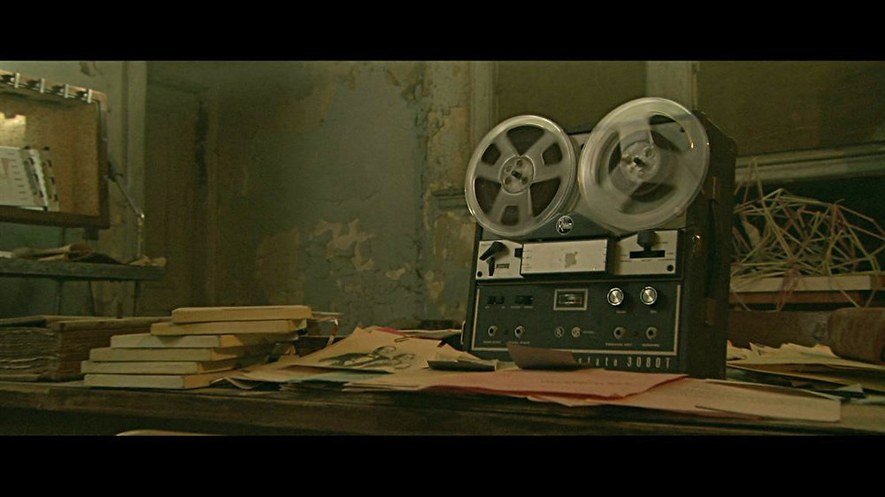 """The tape recorded """"sessions"""" in Session 9"""