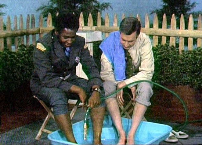 Tackling racism with a wading pool