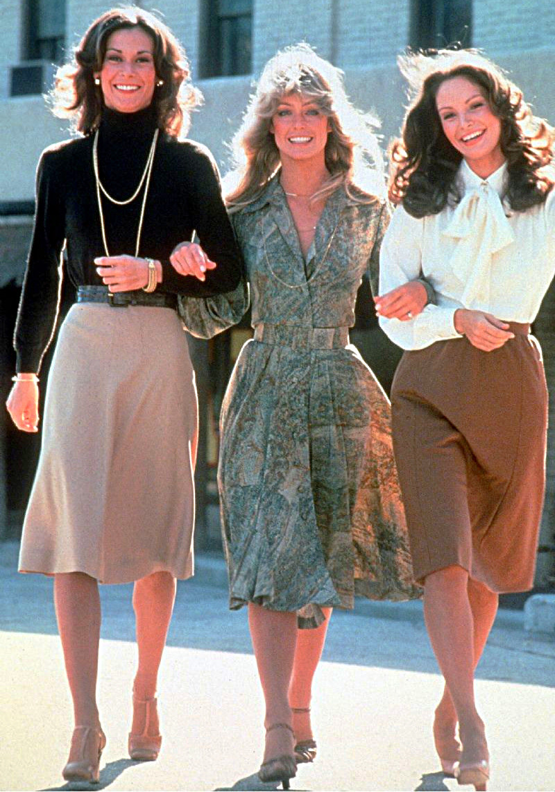 Hello Angels! Charlie's Angels, dressed for success