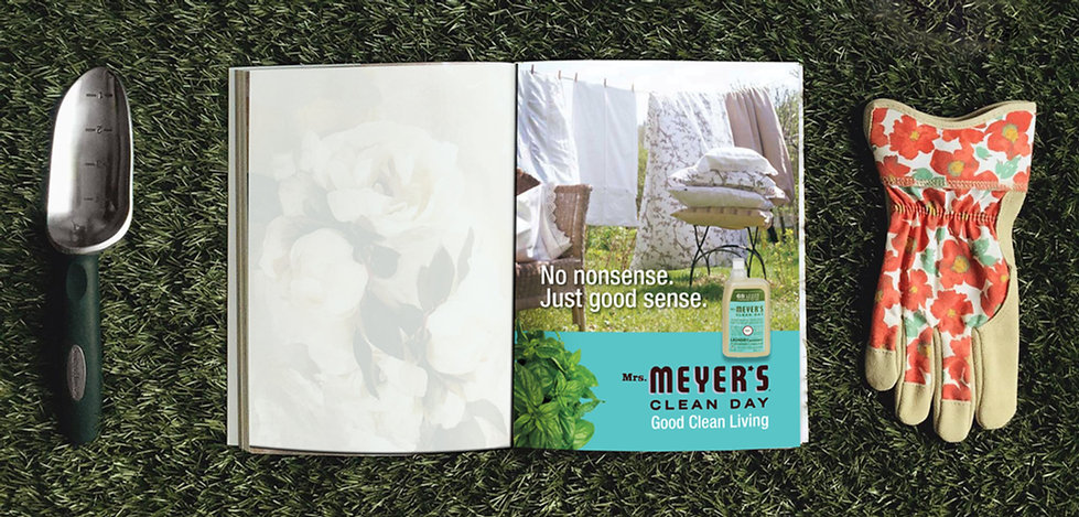 Mrs. Meyer's Clean Day Print Ad