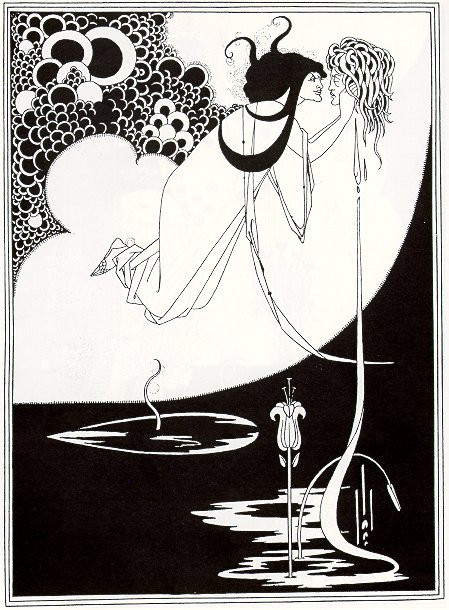 "Aubrey Beardsley artwork ""Salome"""