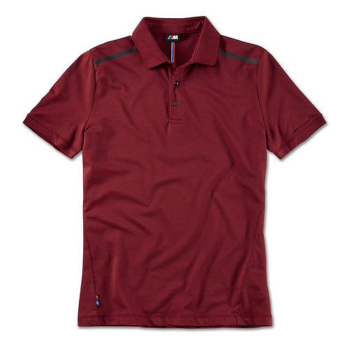 BMW M Polo Shirt, men Bordeaux