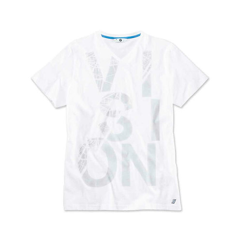 BMW i T-Shirt mens vision print (white)