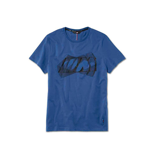 BMW M Logo T-Shirt, men Blue