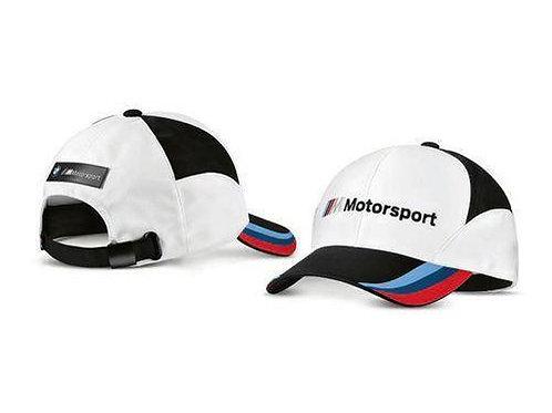 BMW M Motorsport cap ladies and men blk/wht