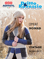 Adriafil Pattern Book Comfort Nomad - Dritto & Rosvescio - Autumn Winter edn. 63