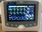 Continuous monitoring of Heart Rate and Rhythm, Respiration, Blood Pressure & Patient Temperature.