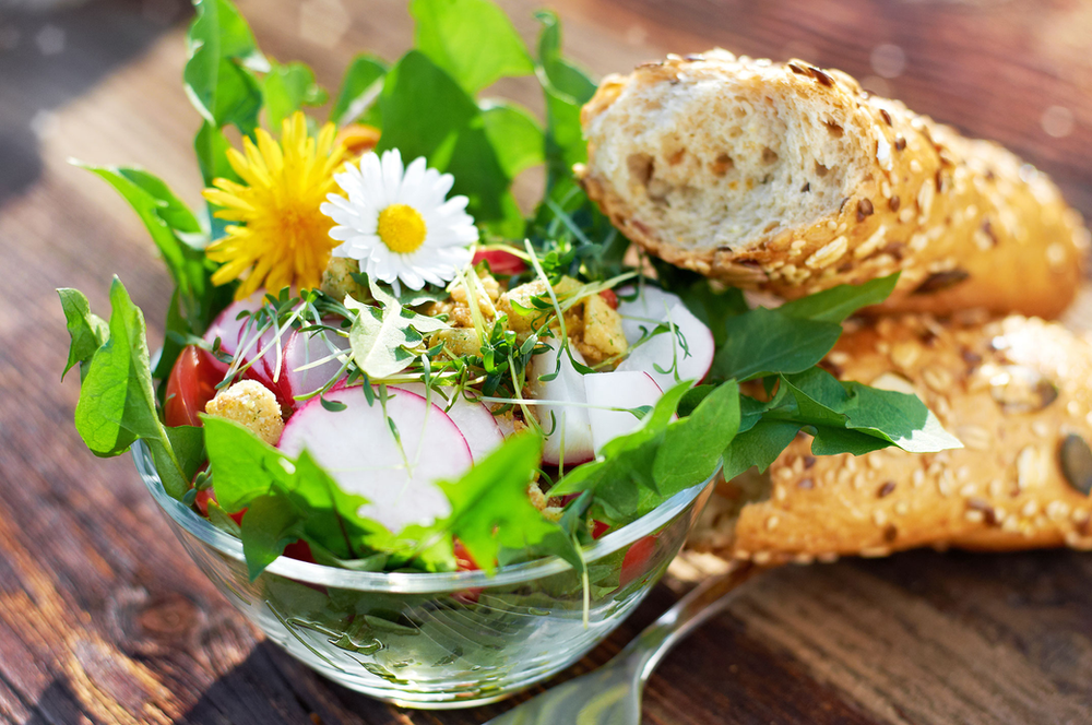 Radieserl Salat