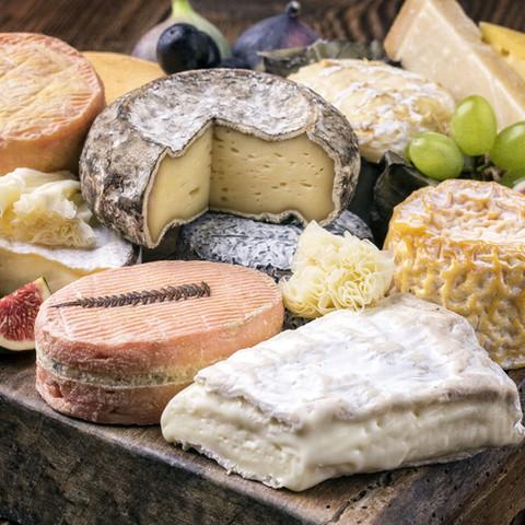Regionale & internationale Käsespezialitäten