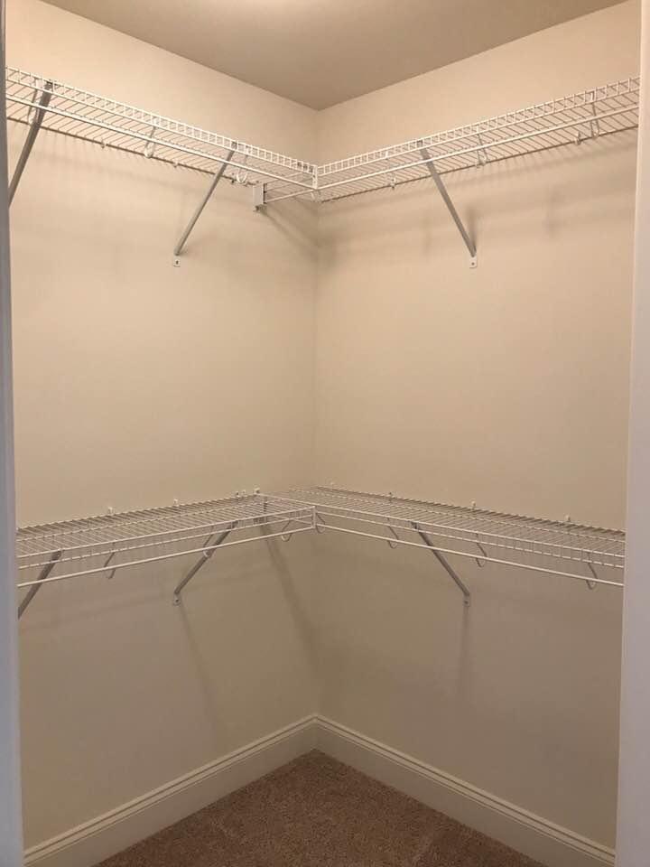 lot 12 lennox master closet