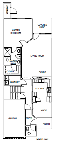 This floor plan is flipped
