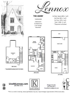 The Ashby floor plan