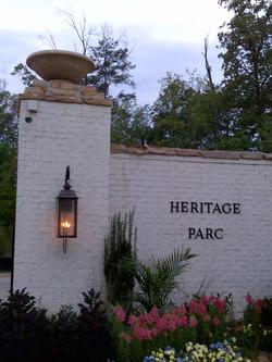 Heritage Parc entrance