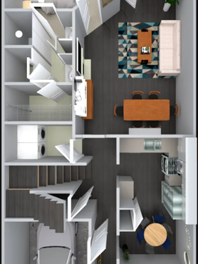 The Camden main level