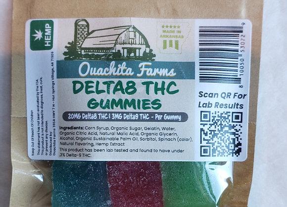 Ouachita Farms Delta 8 Gummies