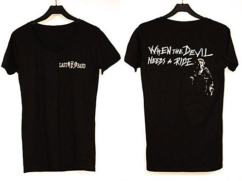 Devil Deep Neck T-shirt
