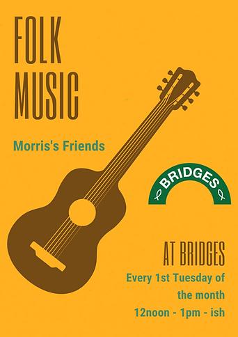 Cream Folk Music Festival Poster.png