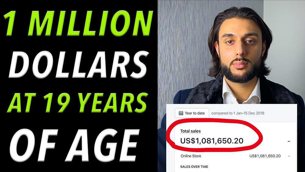 How Kamil Sattar Went From Broke To 7 Figures Shopify Dropshipping