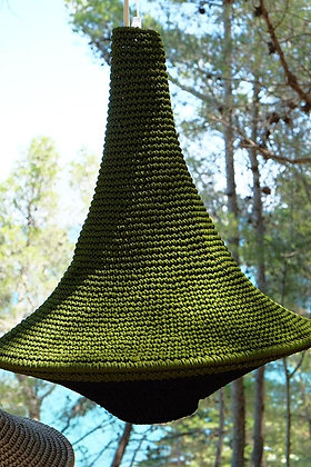 Suspension LAMPE crochet L