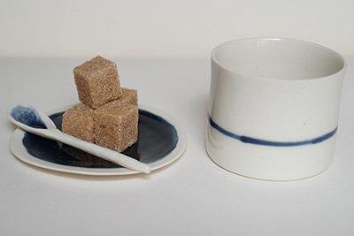 Tasse à café - Porcelaine -