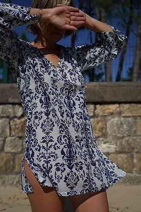 tunique beachwear en cotonnade bohostyle