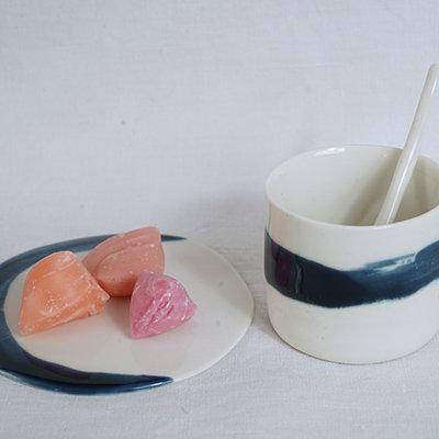 porcelaine blanche hand made artisanat