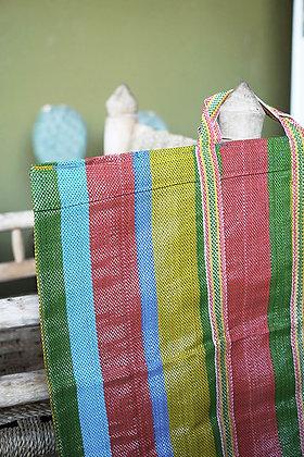 Cabas plage sac multicolore tendance
