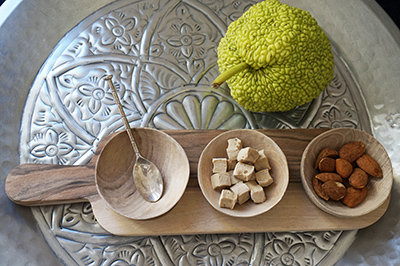bols en bois de citronnier Marrakech