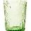 Thumbnail: Lot de 6 verres à eau. Vert.