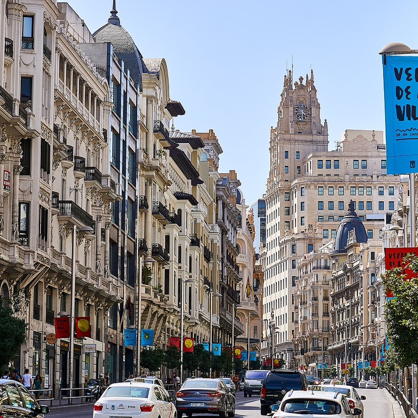 madrid travel guide on best travel blogs for young travelers