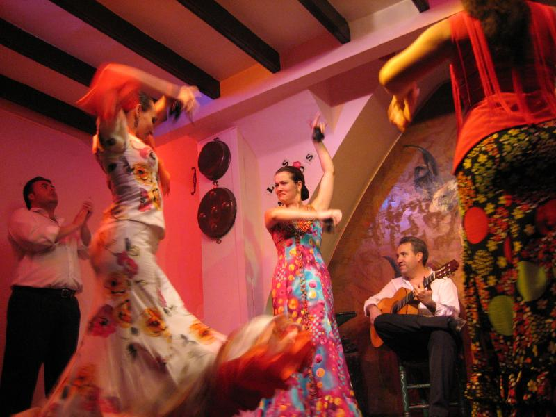 flamenco at top things to do in spain