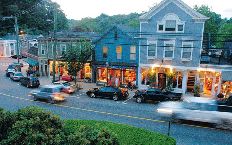 Chester CT small town