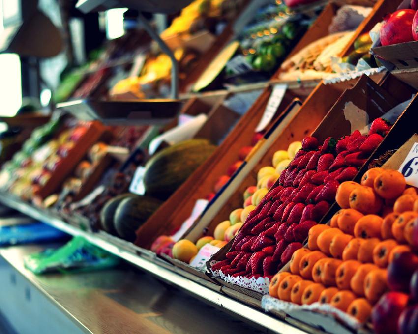 mercado de san miguel in restaurant tour of spain