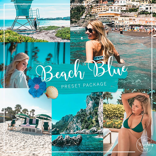 Beach Blues Preset Package (Lightroom)