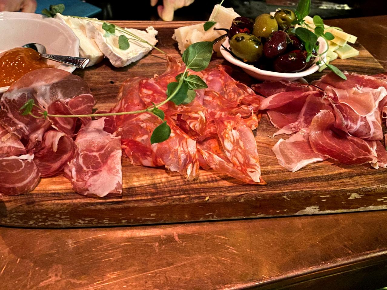Italian food in Stockholm Sweden