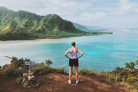 best hiking views in oahu