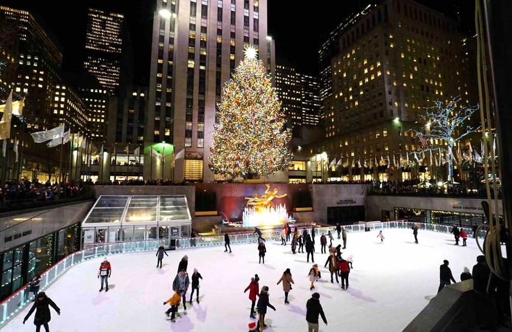 Ice skating rink Rockefeller Center