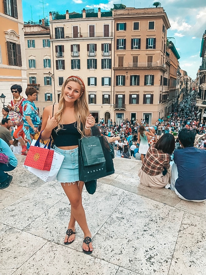 where to shop in Rome Italy