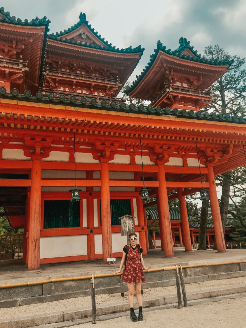 temples seen on best way to travel japan