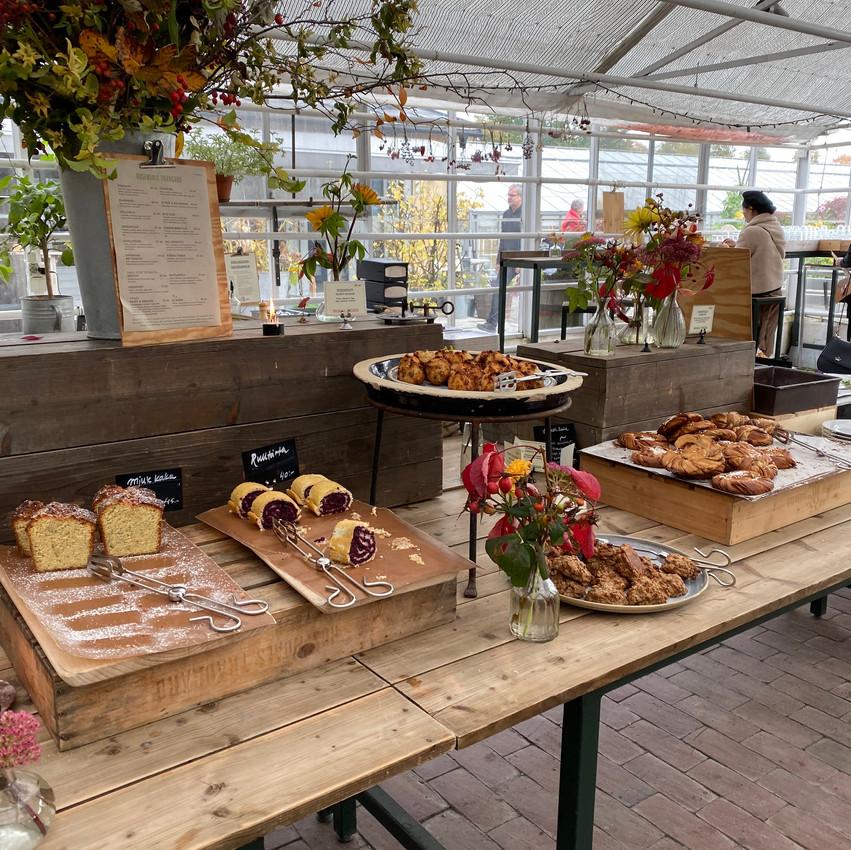 eating at rosendals tradgard
