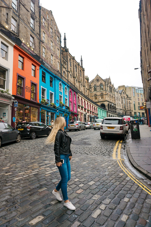 instagramable spots in Edinburgh