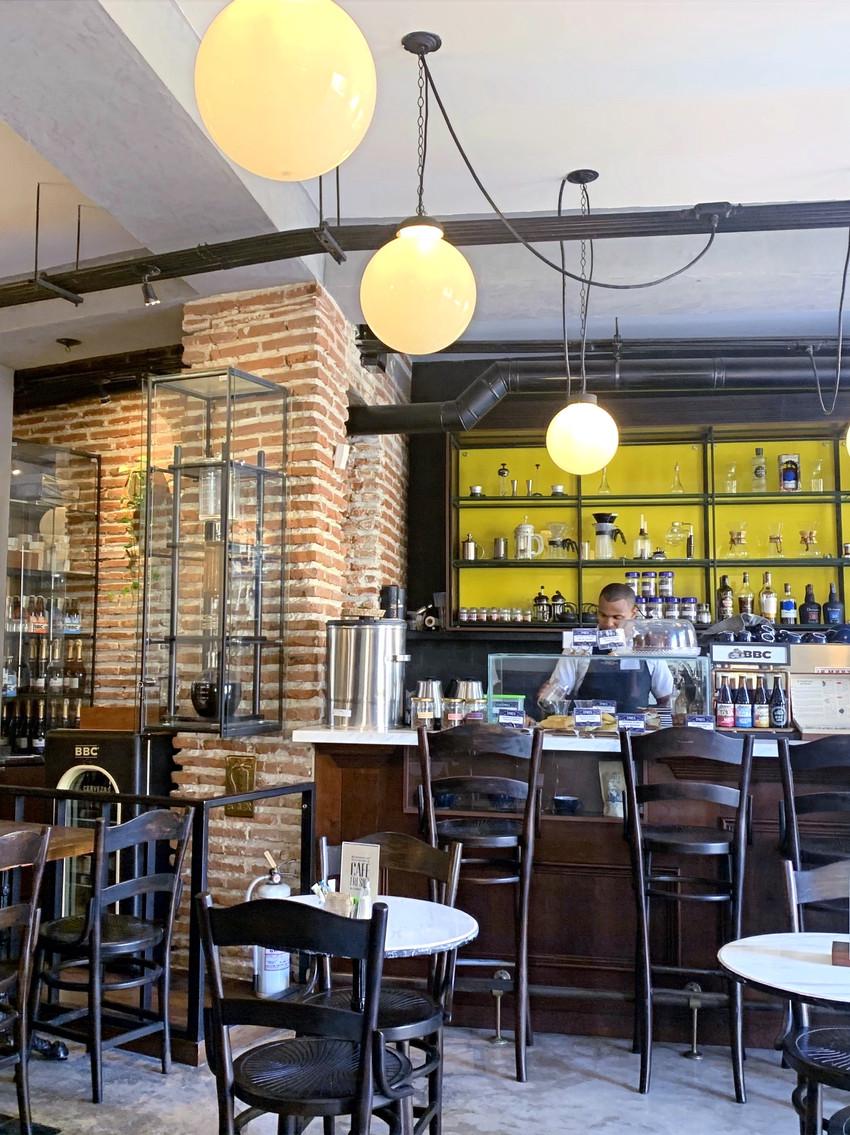 best cafes in cartagena Columbia