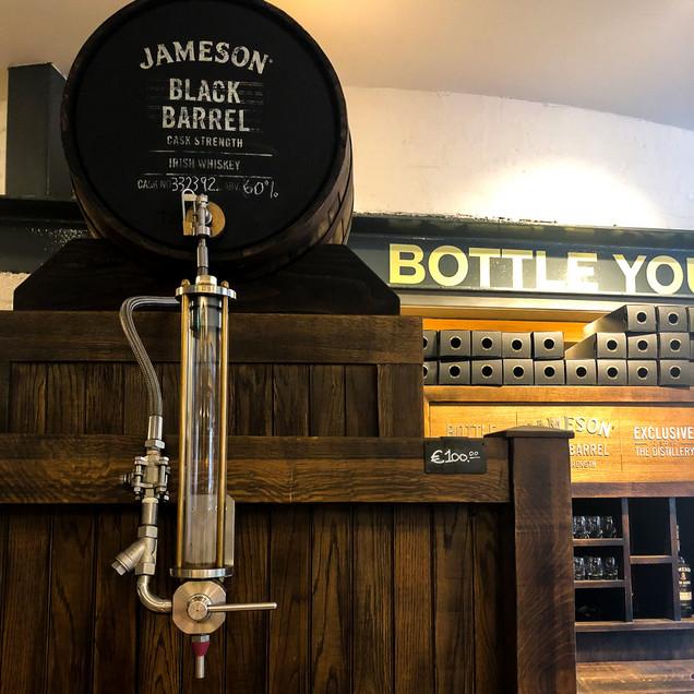 Jameson whiskey guided tour Dublin