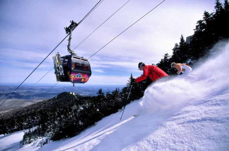 Gondolas at Killington Ski Resort