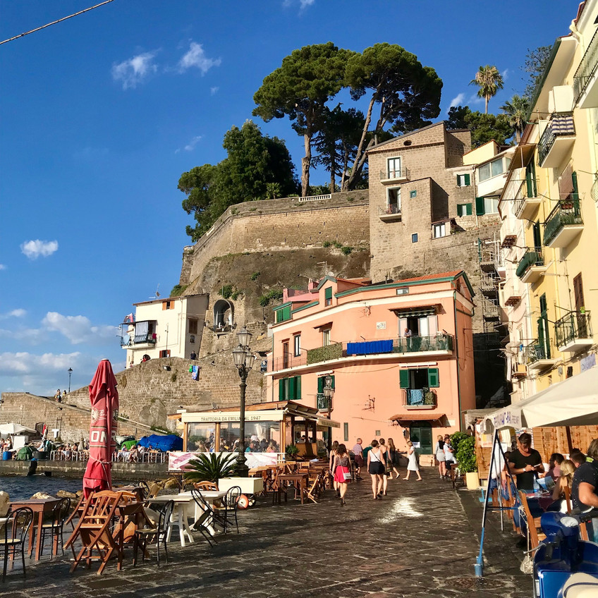 day trips from Naples Italy