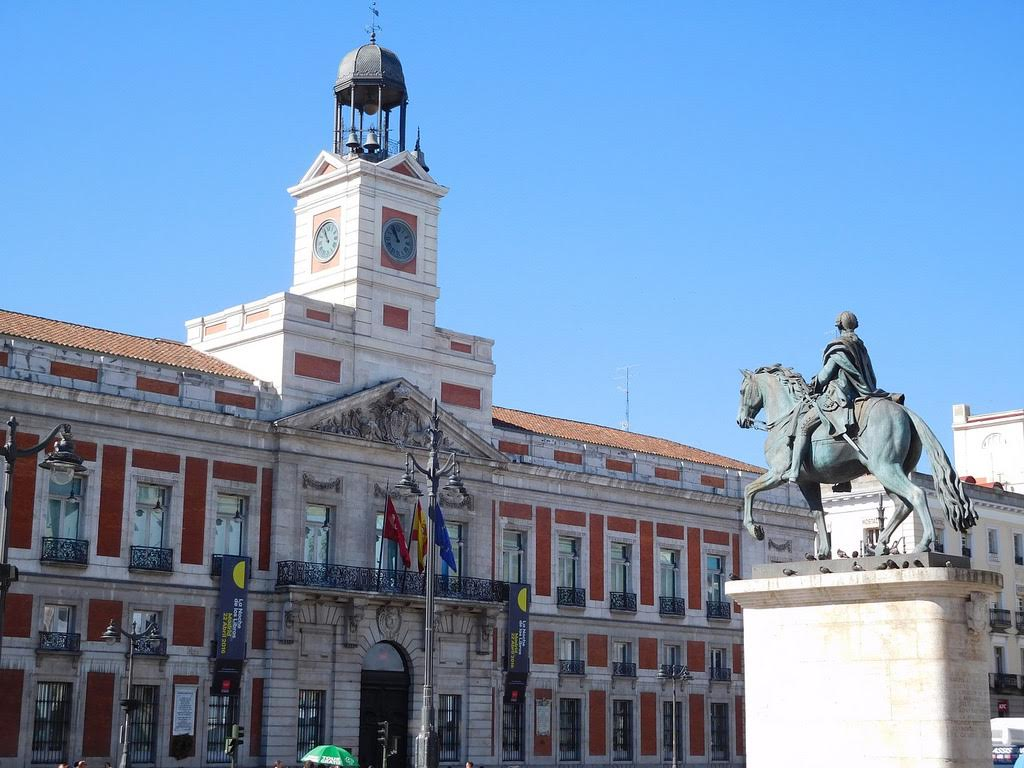 downtown madrid for Europe travel guide