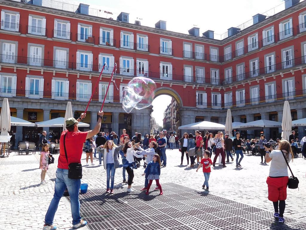 best way to solo travel through madrid spain