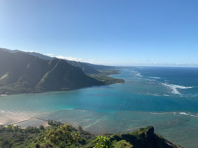 panoramic views of hiking hawaii