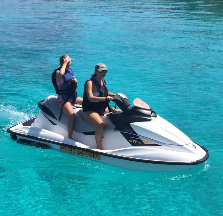 jet ski trip for Caribbean vacations