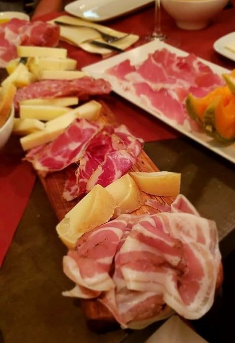 best meat and cheese boards in Italy